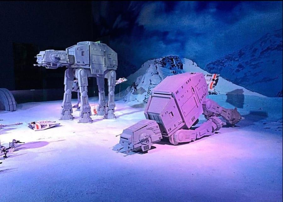 Lego Star Wars Miniland model display at Legoland Malaysia Resort