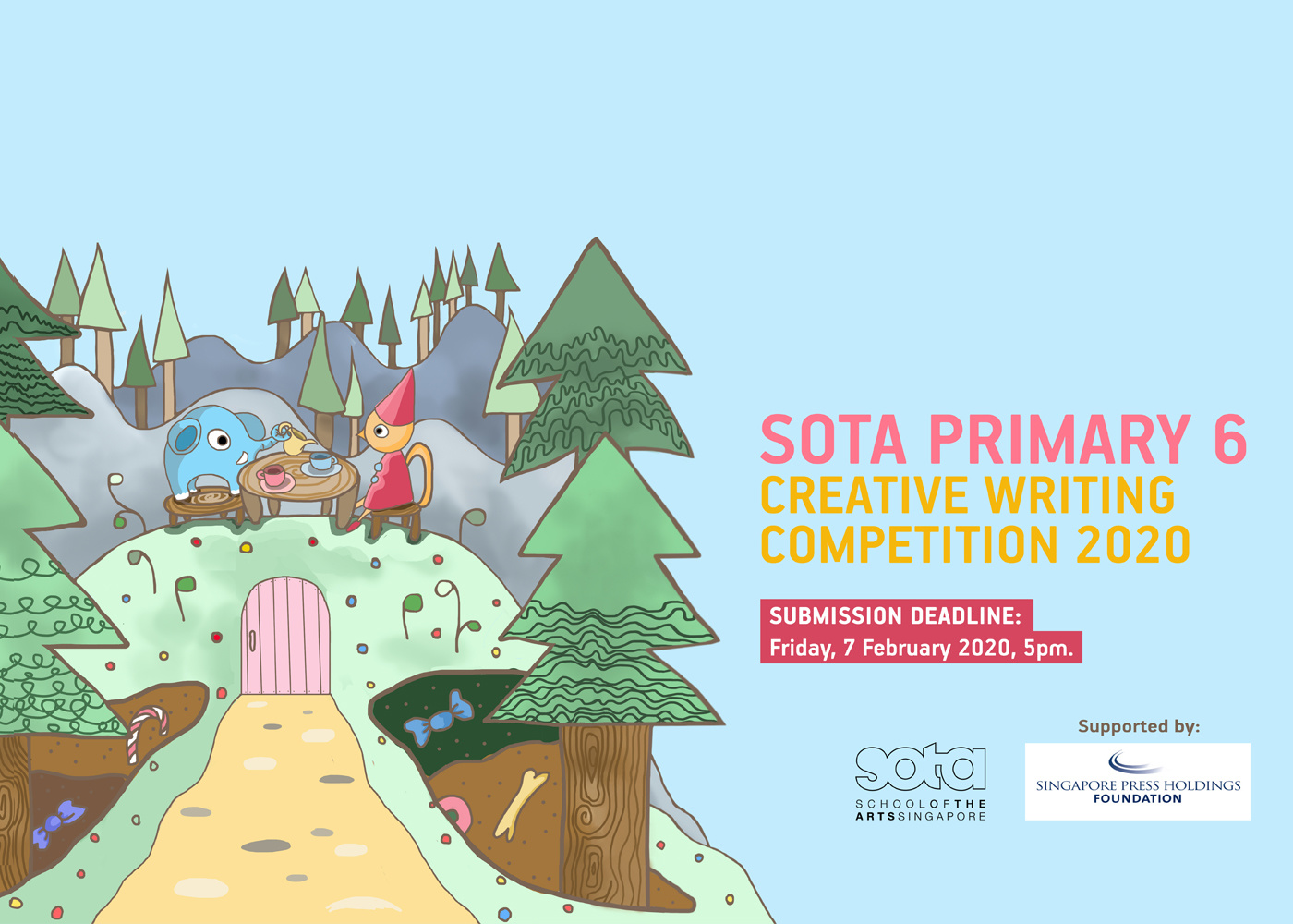 Participate in SOTA's creative writing competition