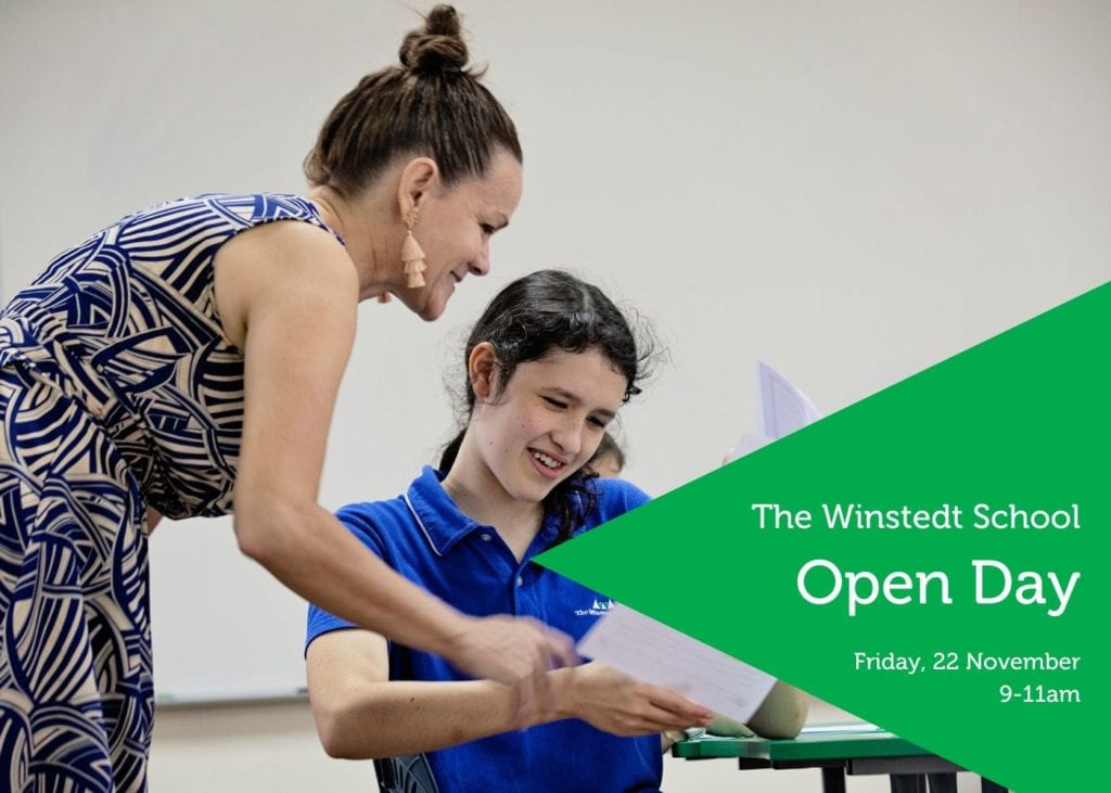 The Winstedt School's next open day
