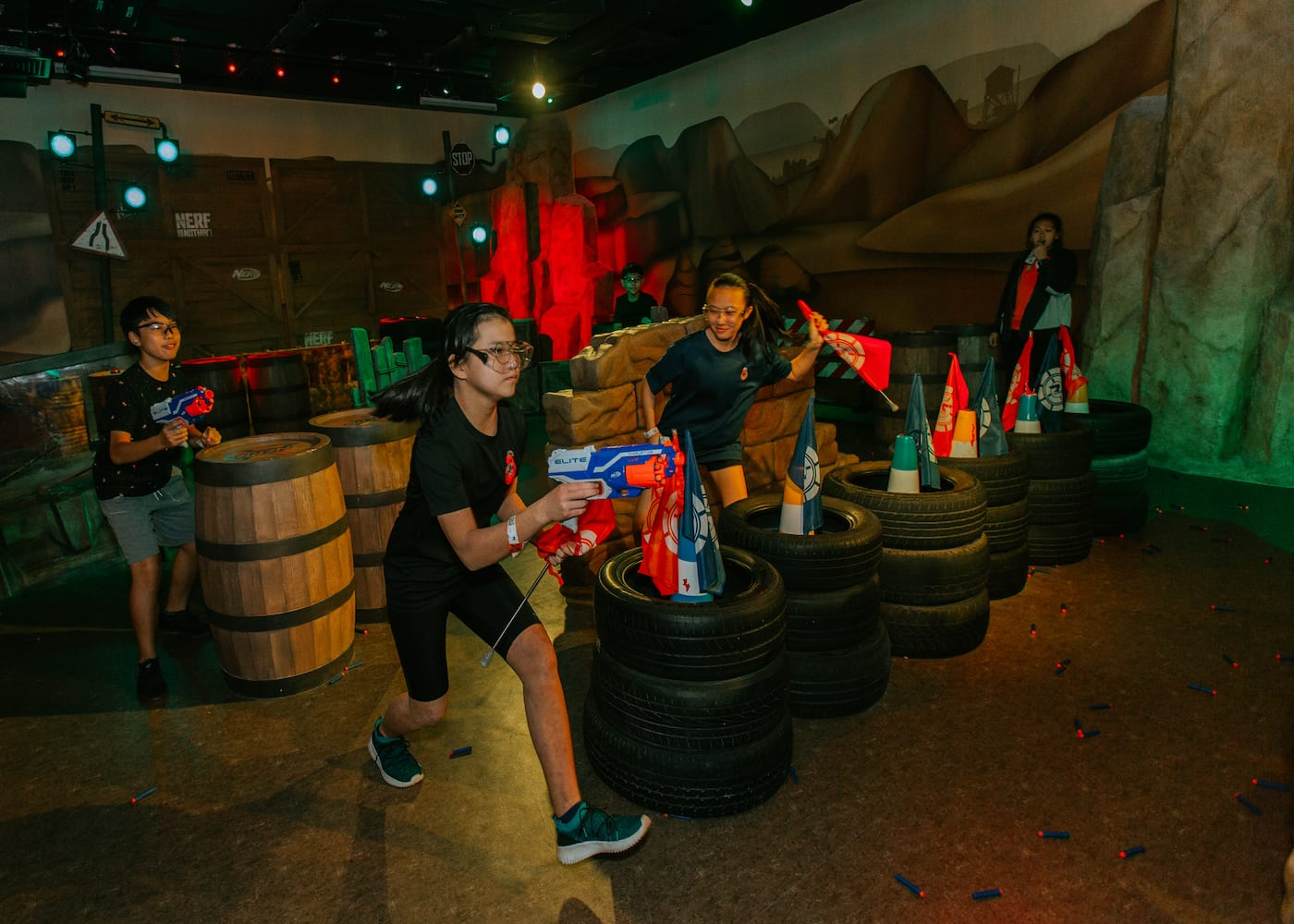 A day of blastin' fun: NERF's adrenaline pumped interschool competition