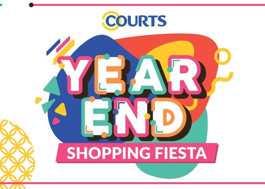 COURTS Year-End Shopping Fiesta