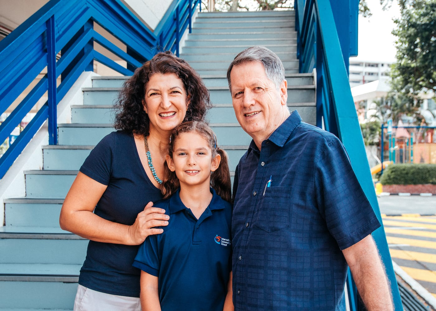 ICS (Singapore) parents Shane and Susan Comiskey share what they love most about the school