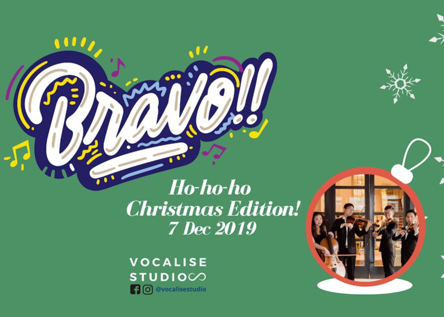 Bravo!! Kids Music Workshop (Christmas Edition) + Vocalise String Quartet Concert