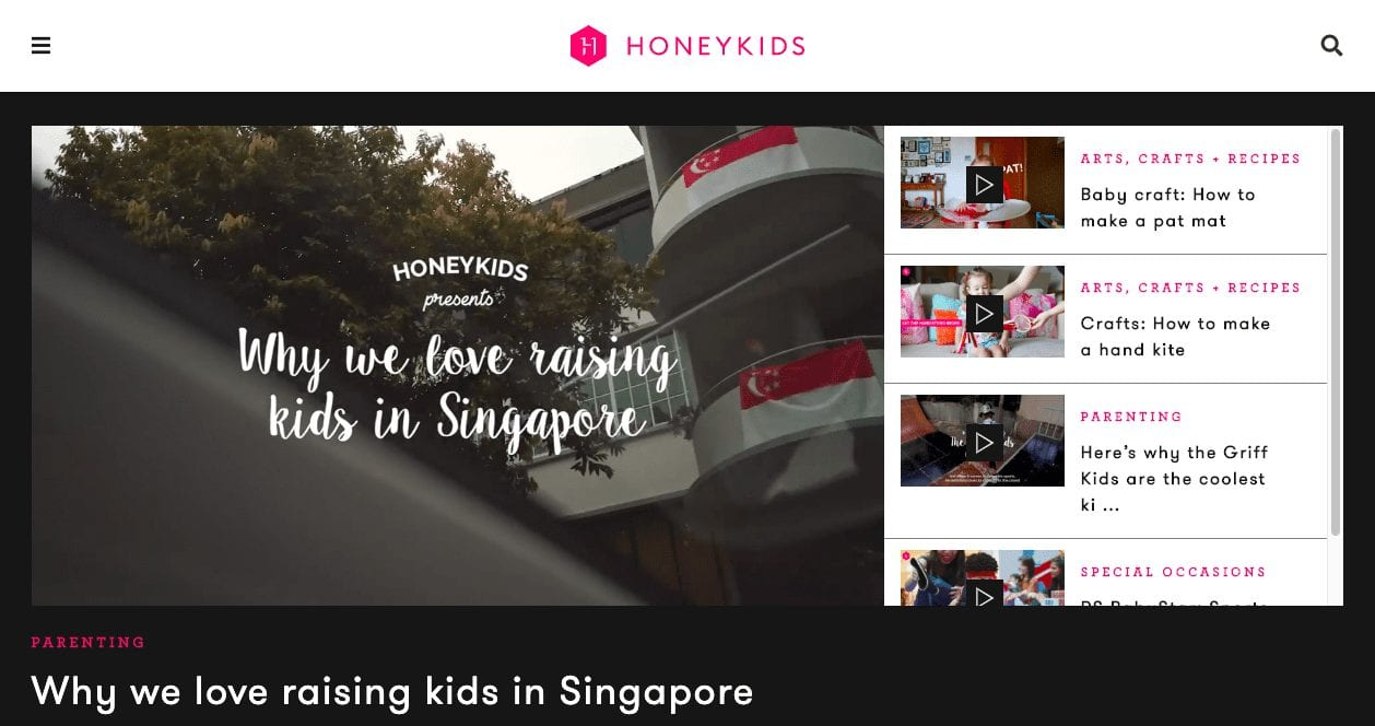 honeykids new site