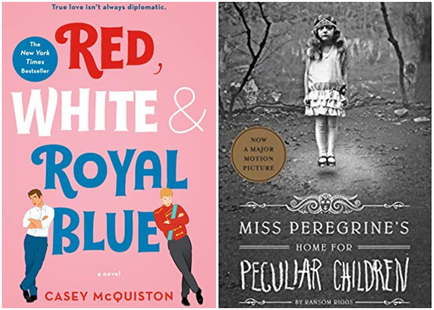 Red, White and Royal Blue | Miss Peregrine's Home for Peculiar Children