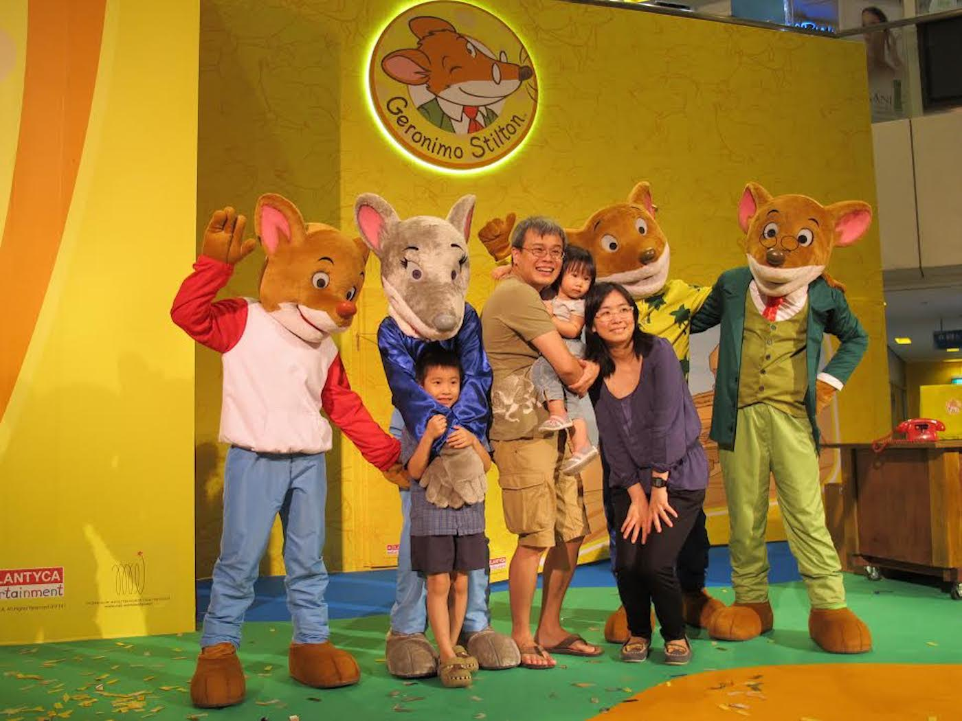 Get ready for a Fabumouse family Christmas at Forum The Shopping Mall with Geronimo Stilton!