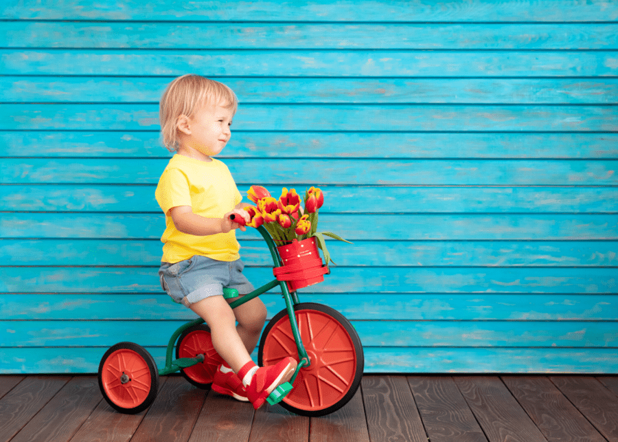 Toddler on bikes | Bikes for whole family