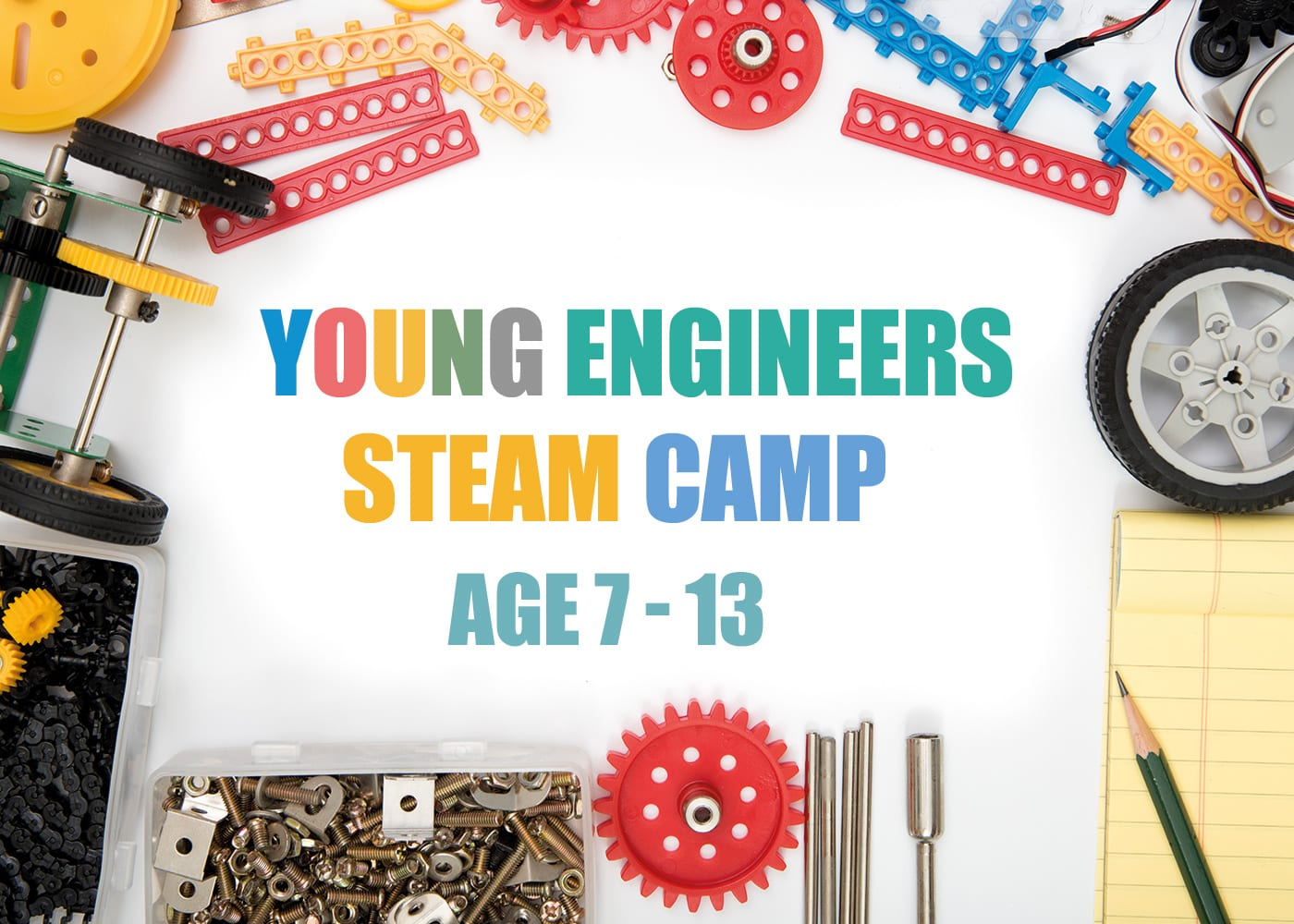 Here's a STEAM camp that the young'uns will enjoy!