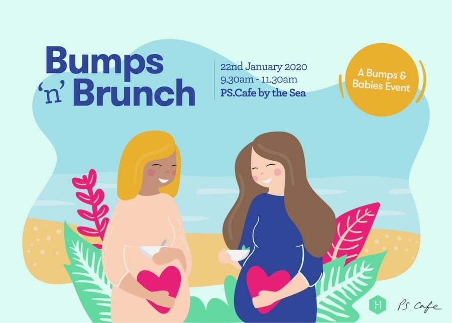 HoneyKids Bumps 'n' Brunch at PS.Cafe by the Sea: A Bumps and Babies event