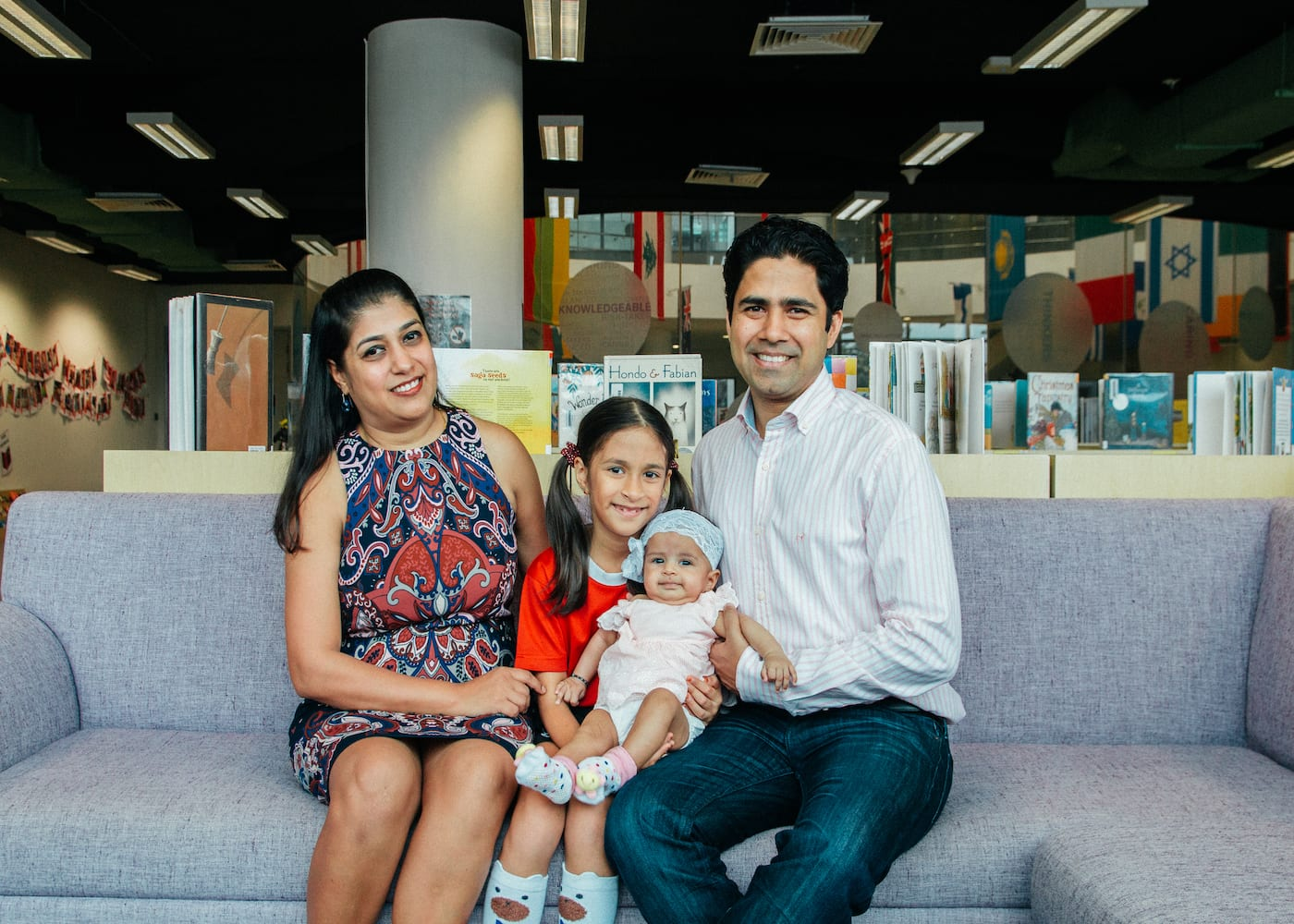 CIS parent Komal Bajaj Agrawal shares why her daughter, Vanya, loves CIS's nurturing approach to education