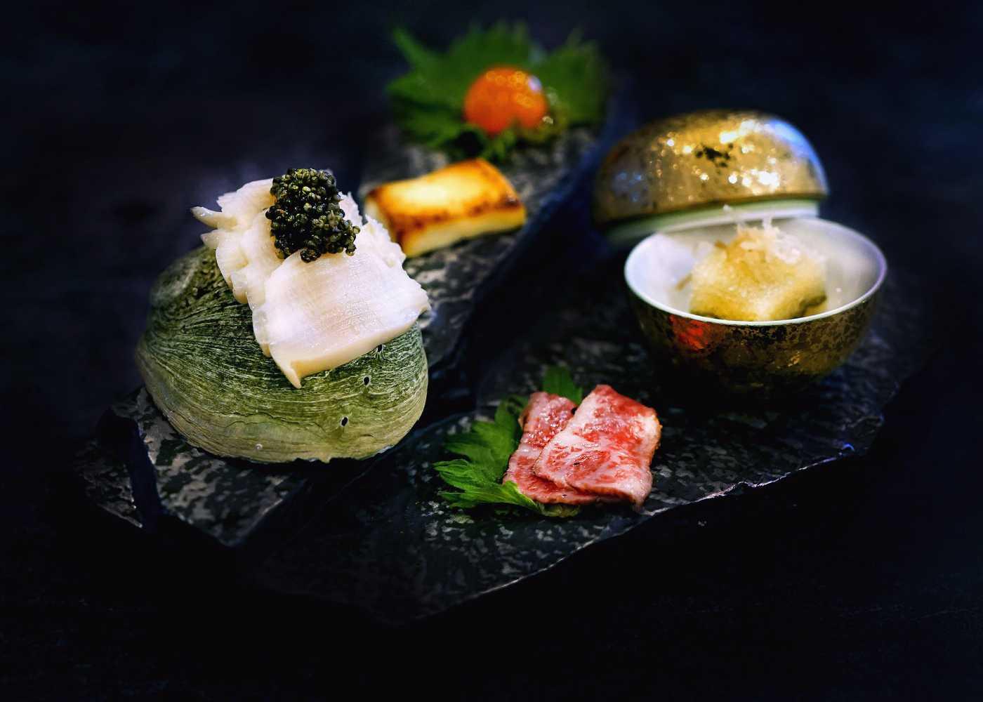 Feast at Fat Cow's Fuyu Matsuri Wagyu Omakase Menu