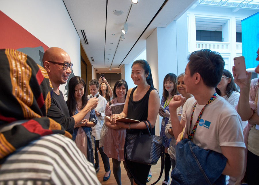 Go on a guided tour at the National Gallery Singapore