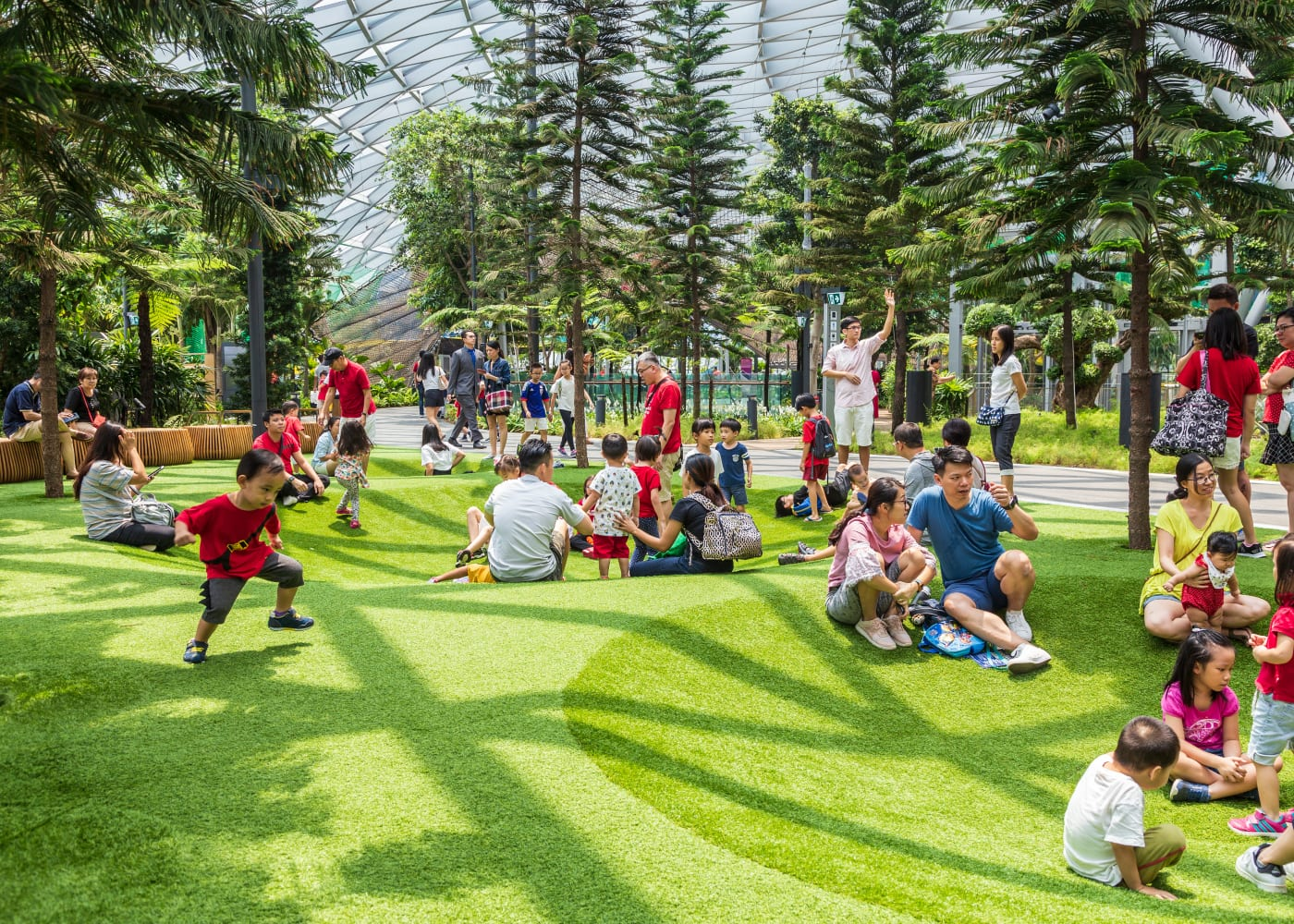 pram friendly canopy park jewel | Best playgrounds and parks in Singapore for kids of all ages