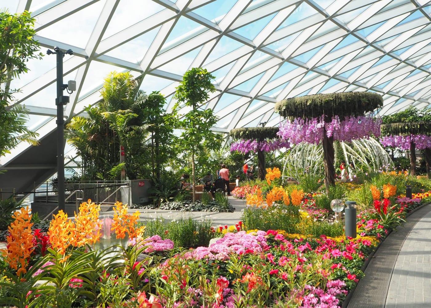 canopy park petal garden