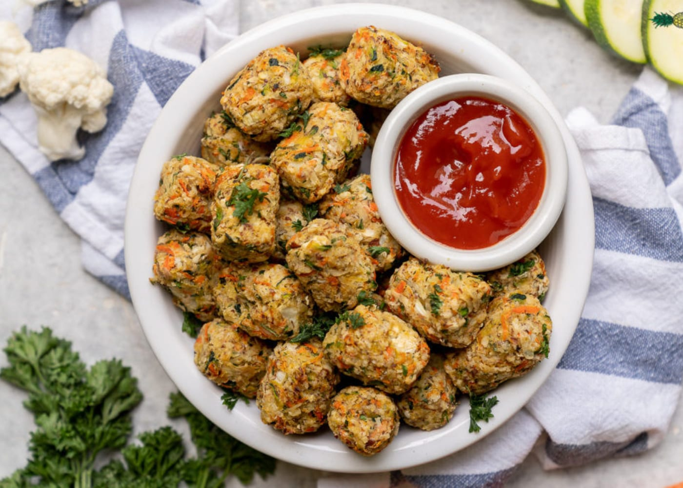 meat-free meals for kids vegetable tater tots