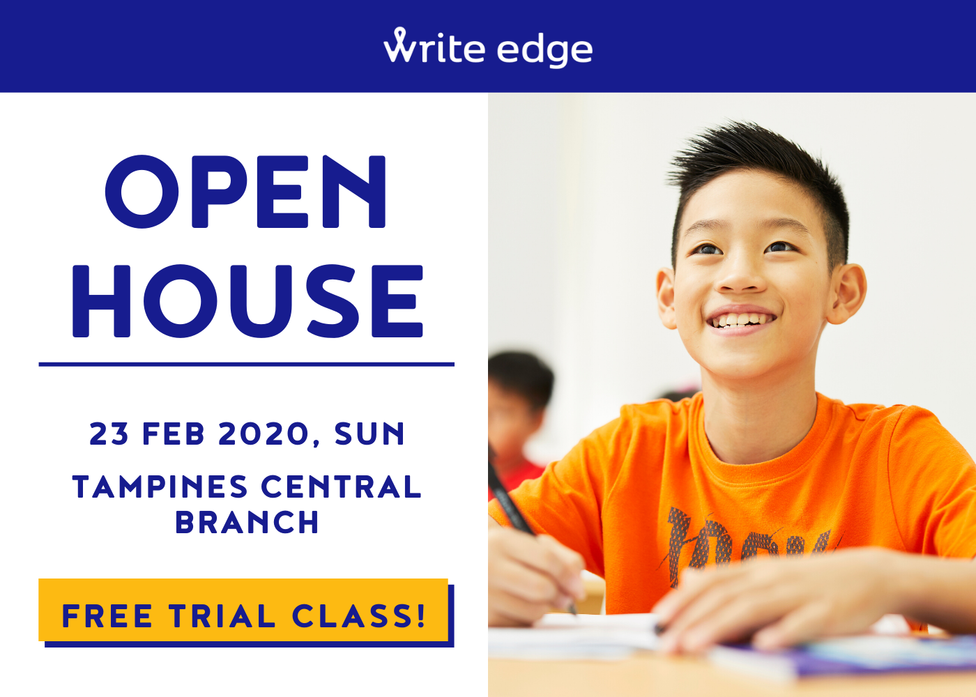 Write Edge Tampines Central Open House