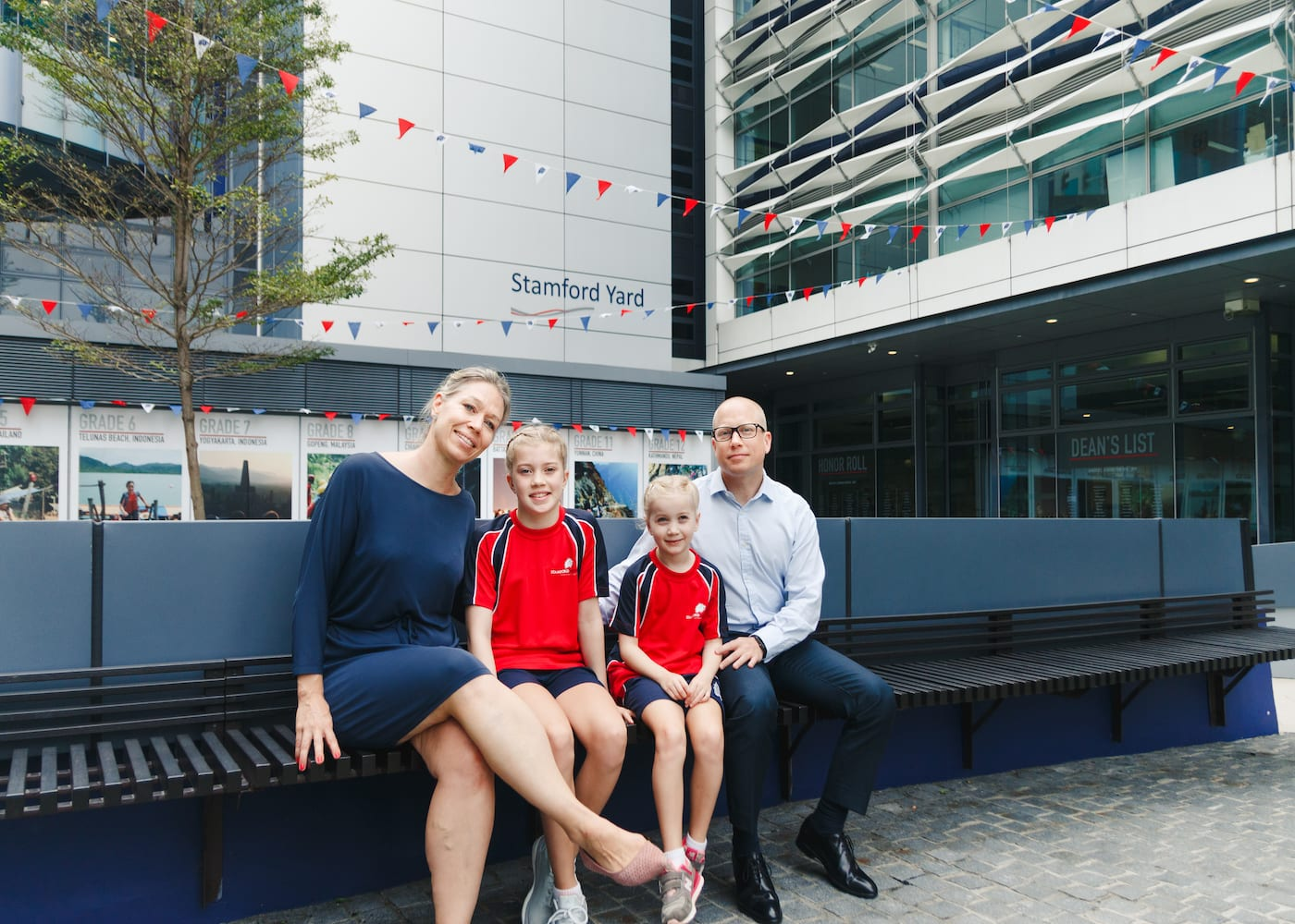 Charlotta Björn-Zanetti shares the amazing way Stamford American International School made her daughters feel welcome