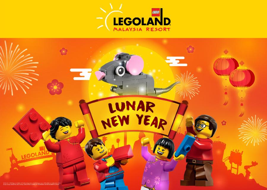 Spend a cultural fun-tastic Lunar New Year at Legoland Malaysia Resort