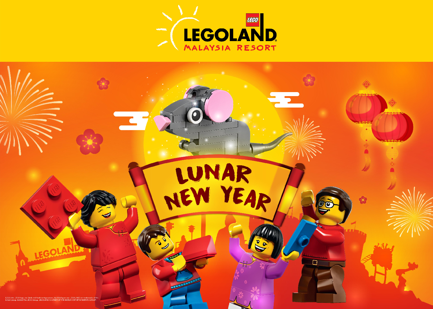 Lunar New Year at Legoland Malaysia Resort