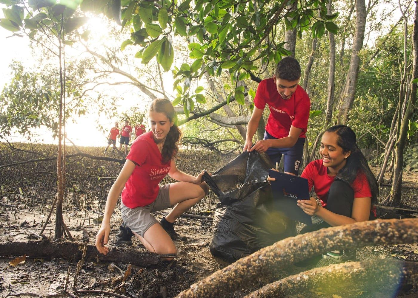 Most sustainable international schools in Singapore: Singapore American School (SAS)