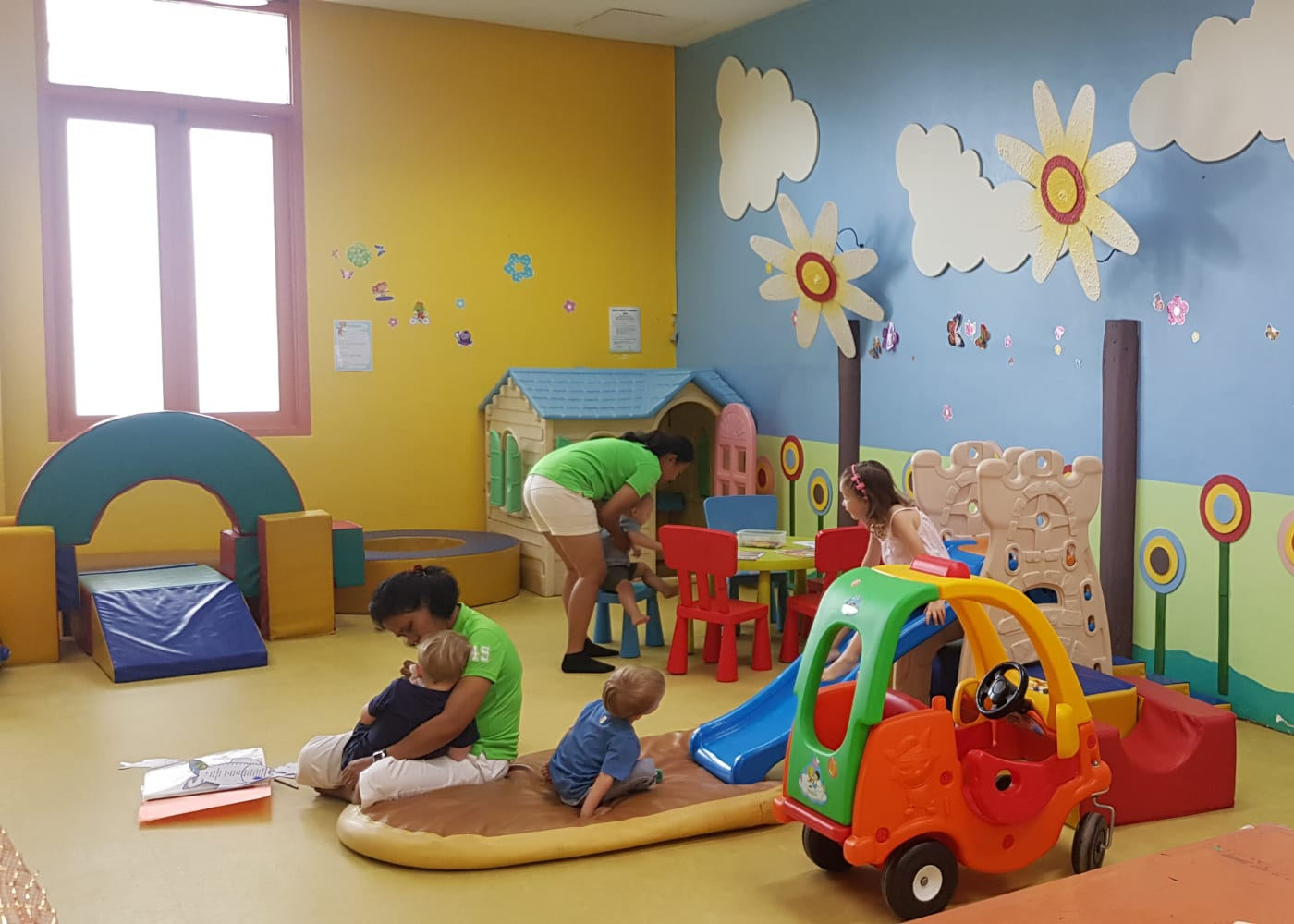 kids club at all inclusive hotel