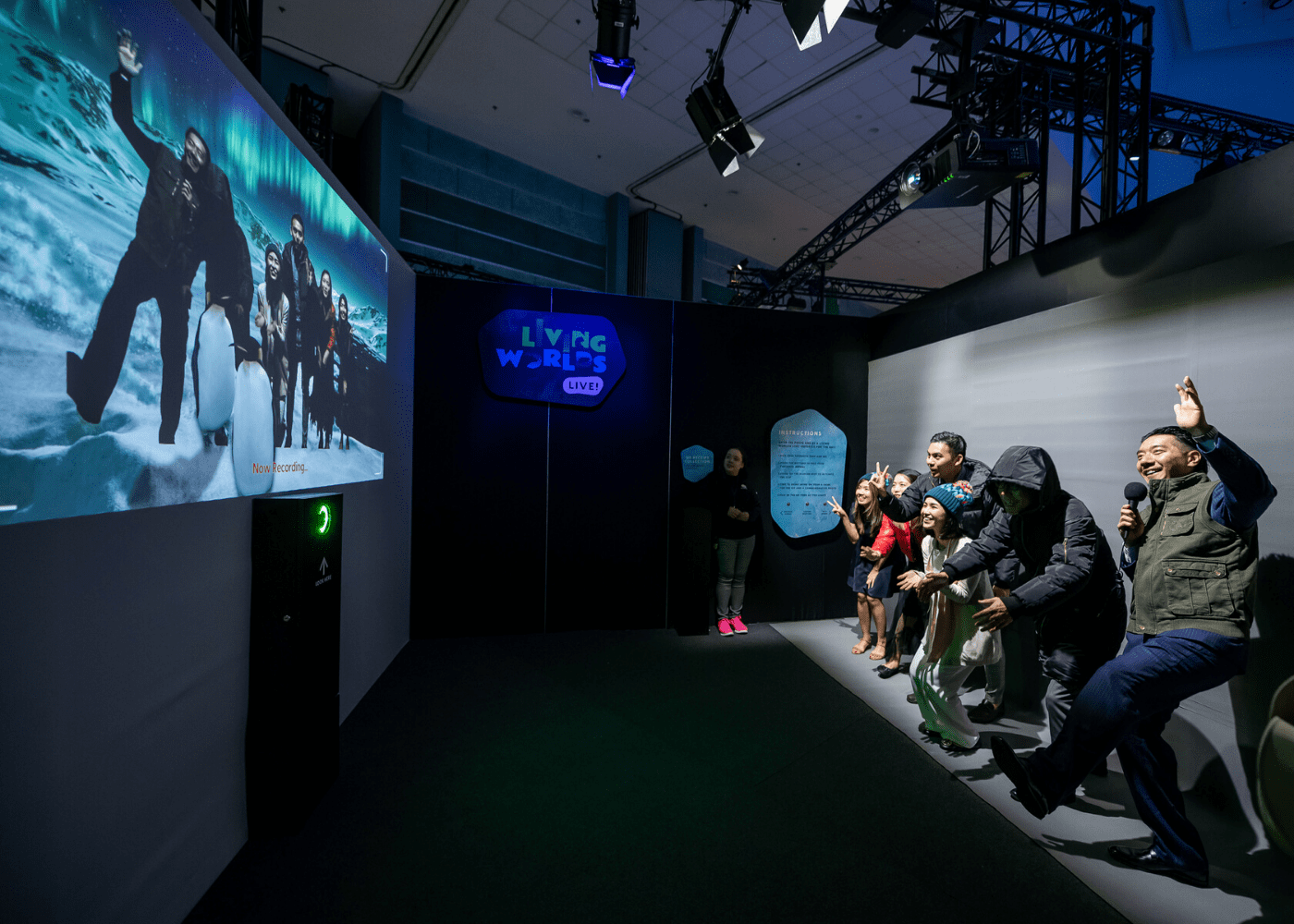 Living Worlds: An Animal Planet Experience exhibition