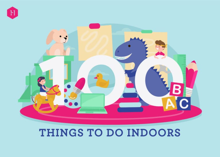Get in! Our ultimate guide to 100 indoor activities for kids