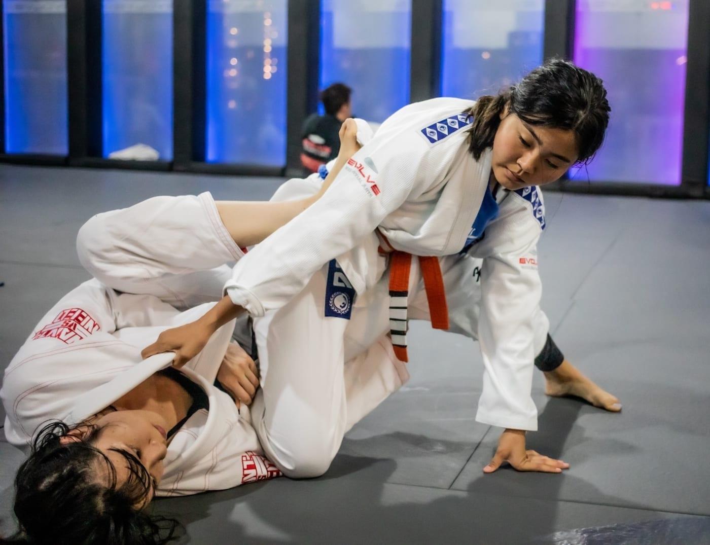 Get to know 14-year-old Brazilian Jiu-Jitsu World Champion Kamila Khalyksovet
