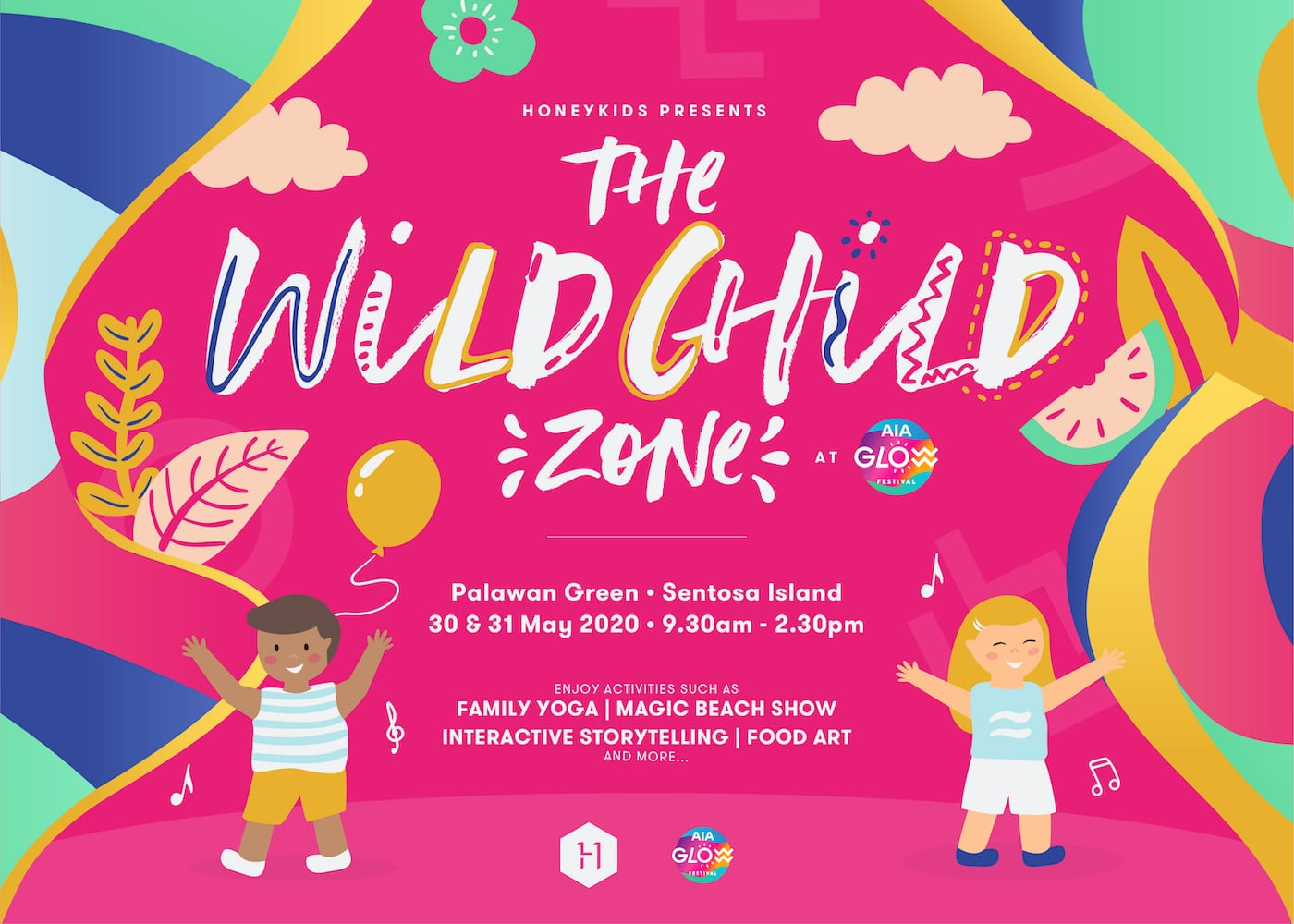 The Wild Child Zone @ AIA Glow
