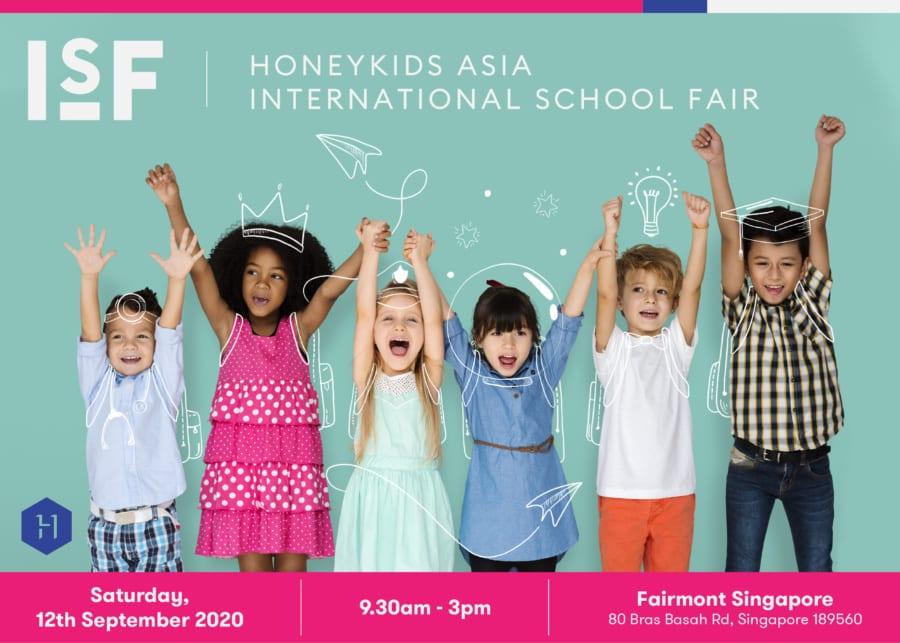 Save the date: HoneyKids Asia International School Fair on 12 Sep 2020
