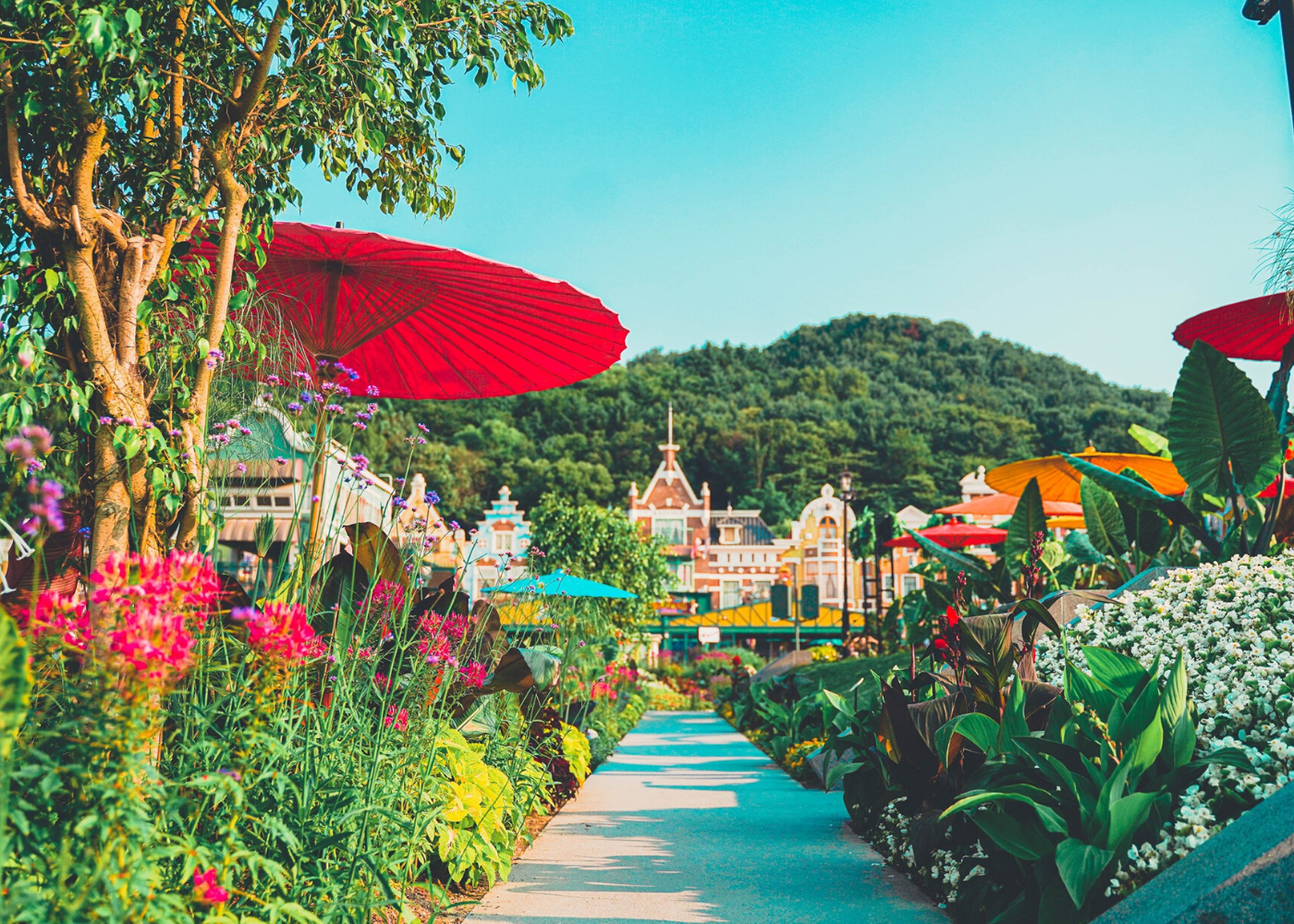 everland korea best theme parks in asia