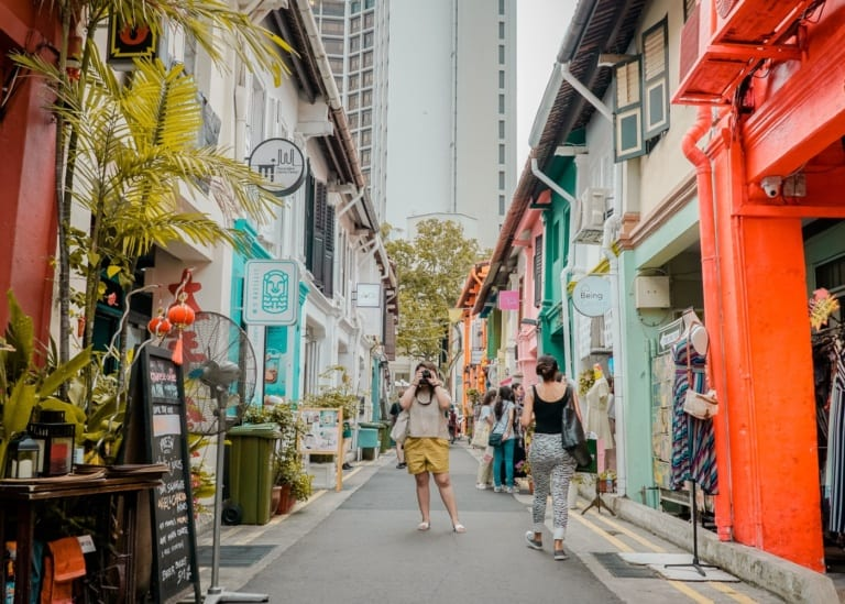 Haji Lane with kids: where to eat, shop and play in the hippest pocket of town