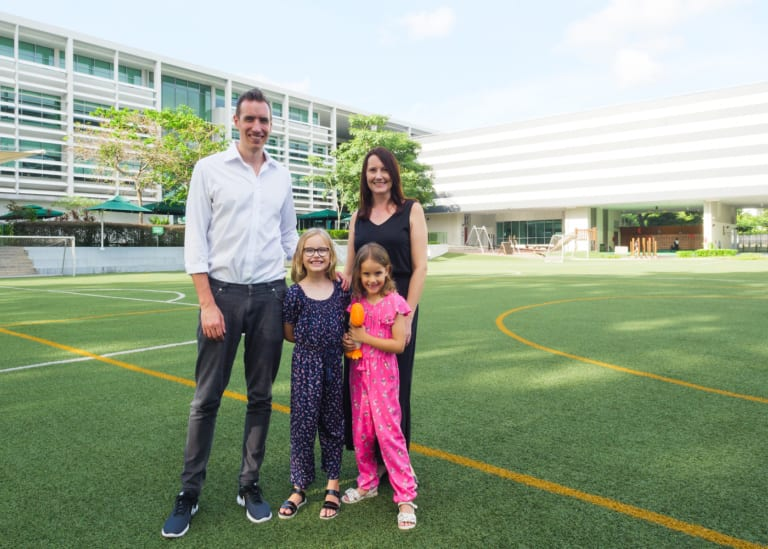 Find out why this family can't wait for Brighton College (Singapore) to open!