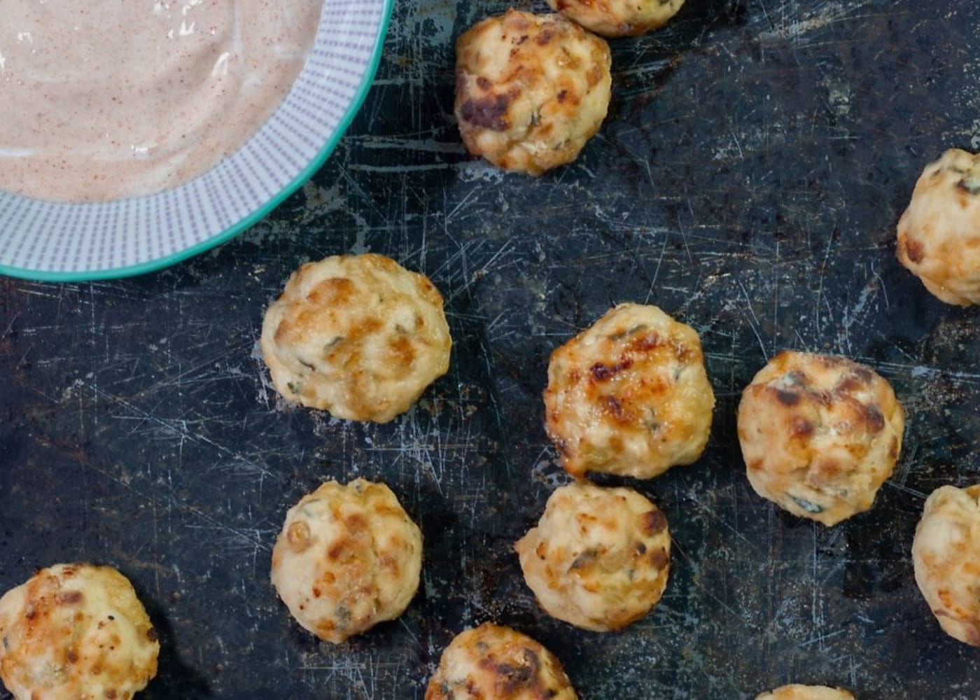 finger foods baby led weaning chicken meatballs