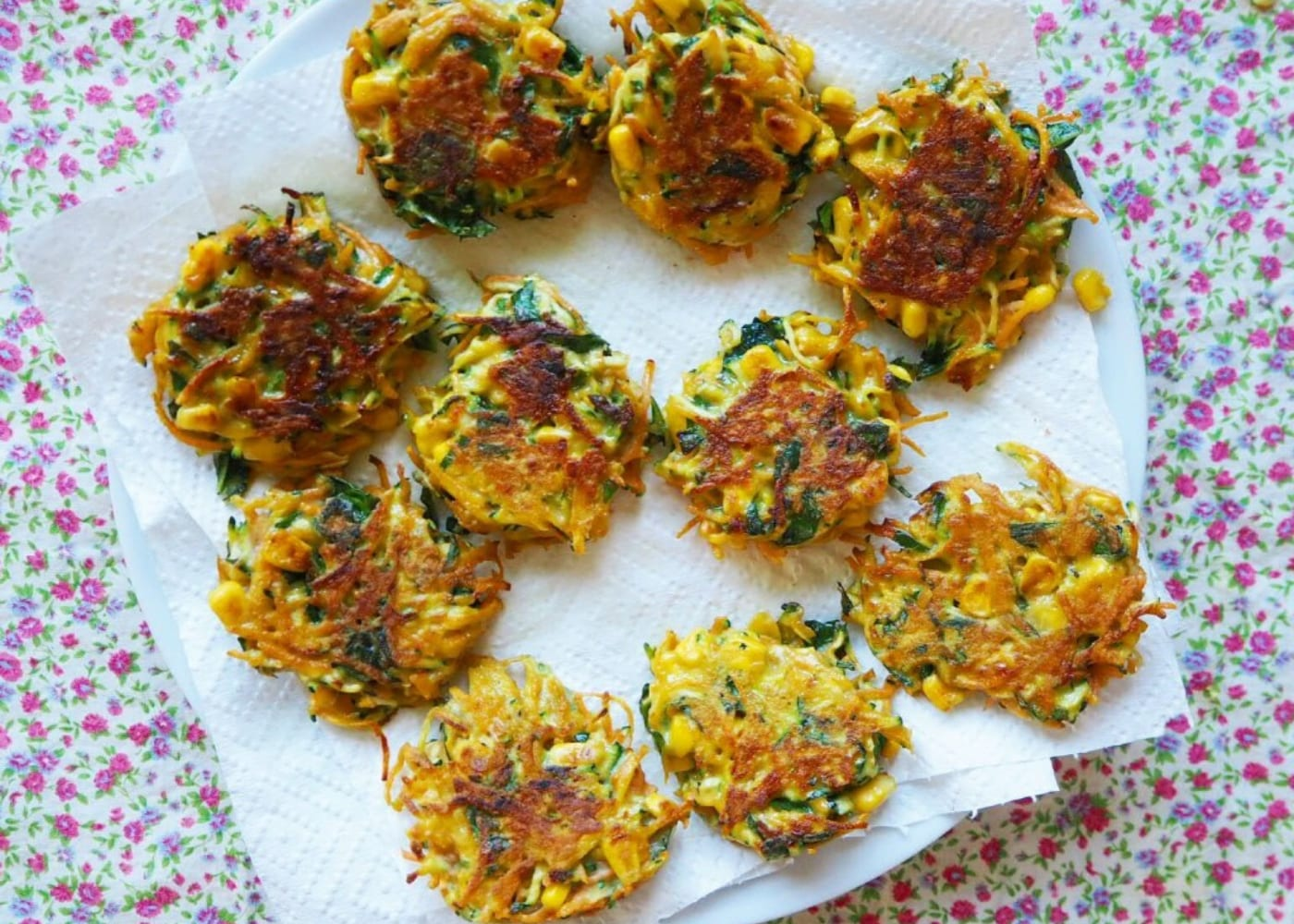 finger foods baby led weaning vegetable fritters