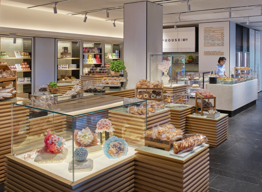 Get freshly baked goods from Shophouse by Shangri-La Hotel