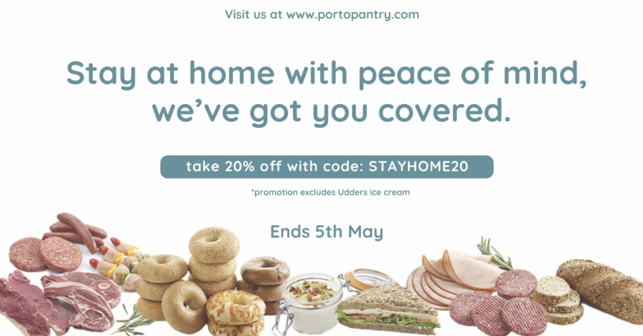 Portopantry: Delivery promotions available!