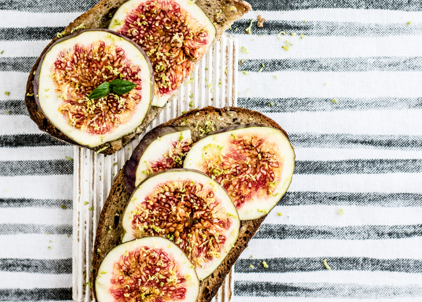 things on toast figs