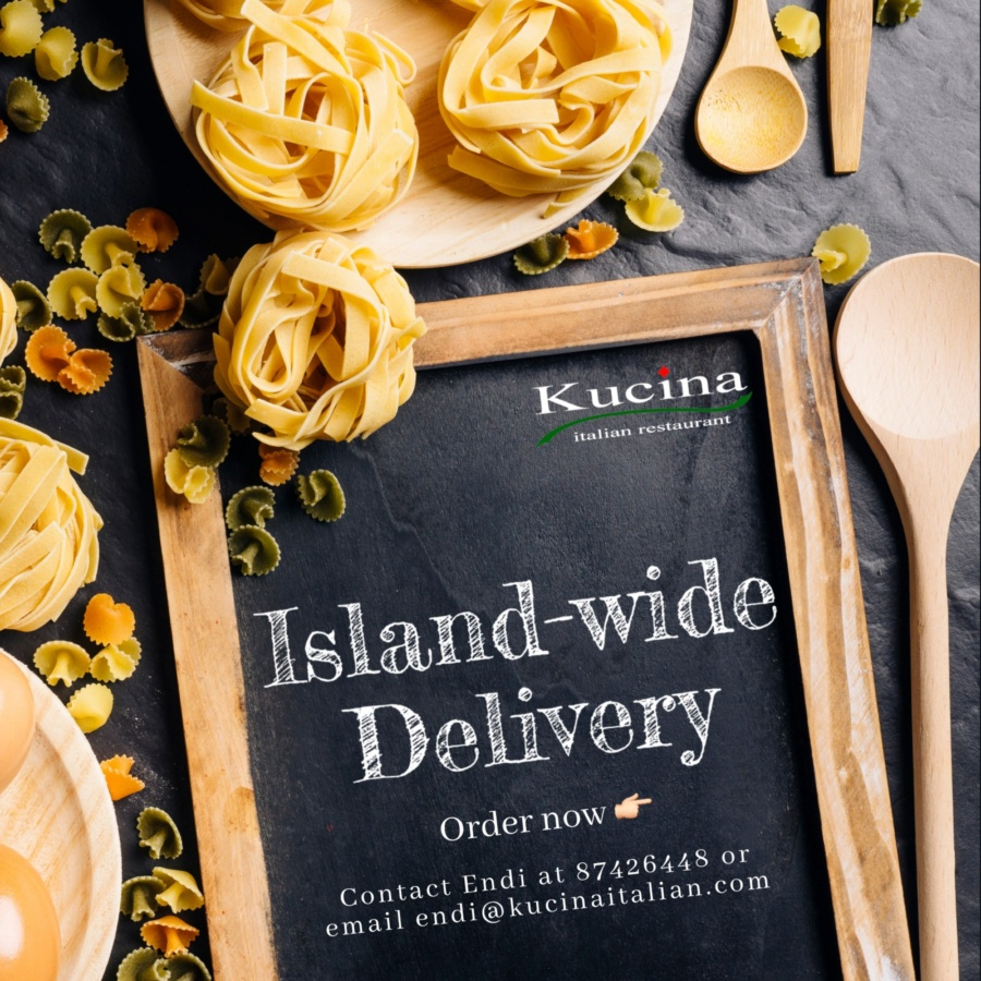 Kucina Stay Home Packages: Islandwide delivery
