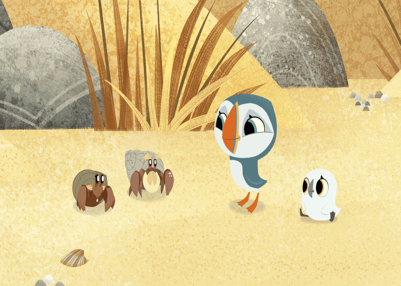 best wholesome tv shows for kids puffin rock