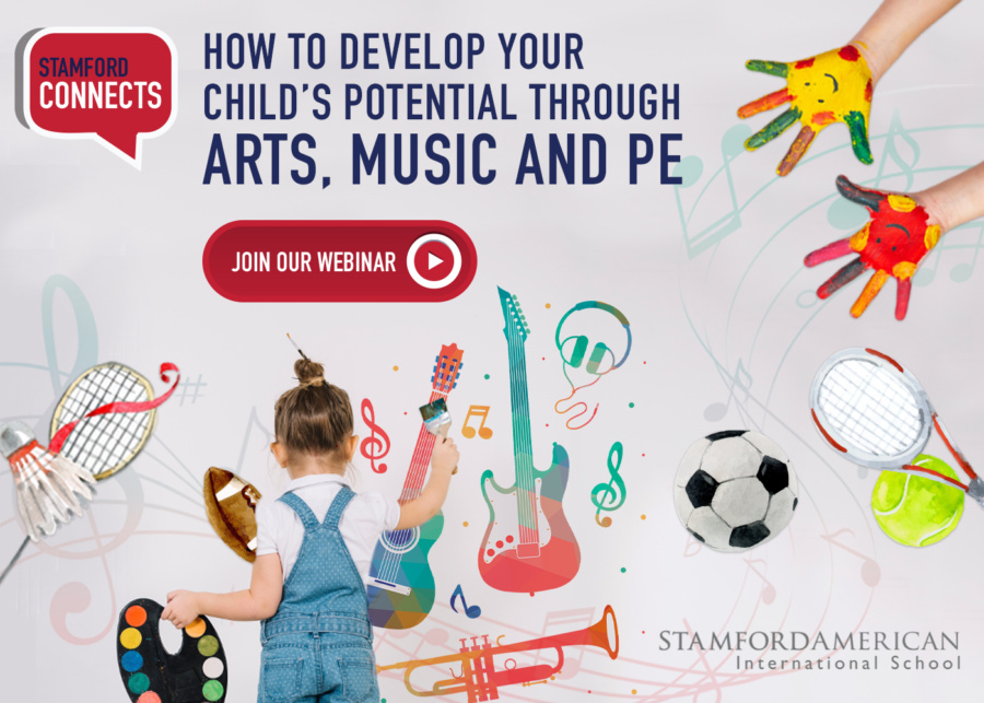 Stamford Connects: How to develop your child's potential through Arts, Music and PE