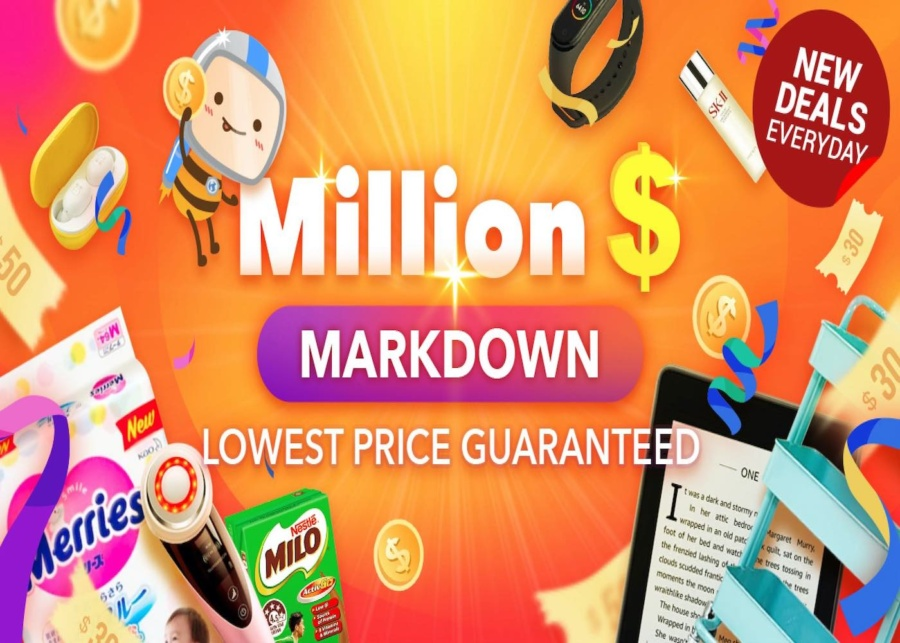 Stay at Home with ezbuy's Million-Dollar Markdown!