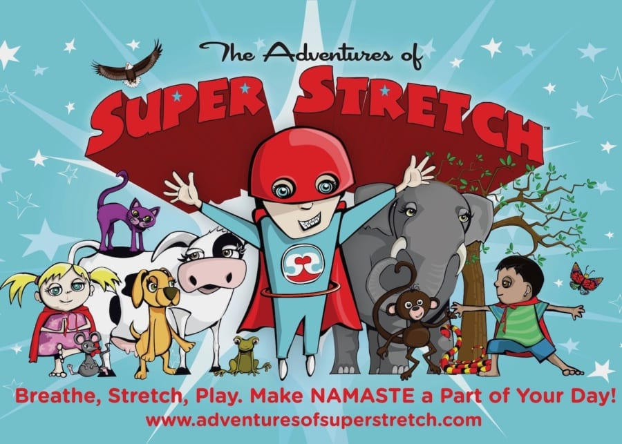 Super Stretch Yoga | A mindfulness and meditation app for kids to help improve their mental wellbeing