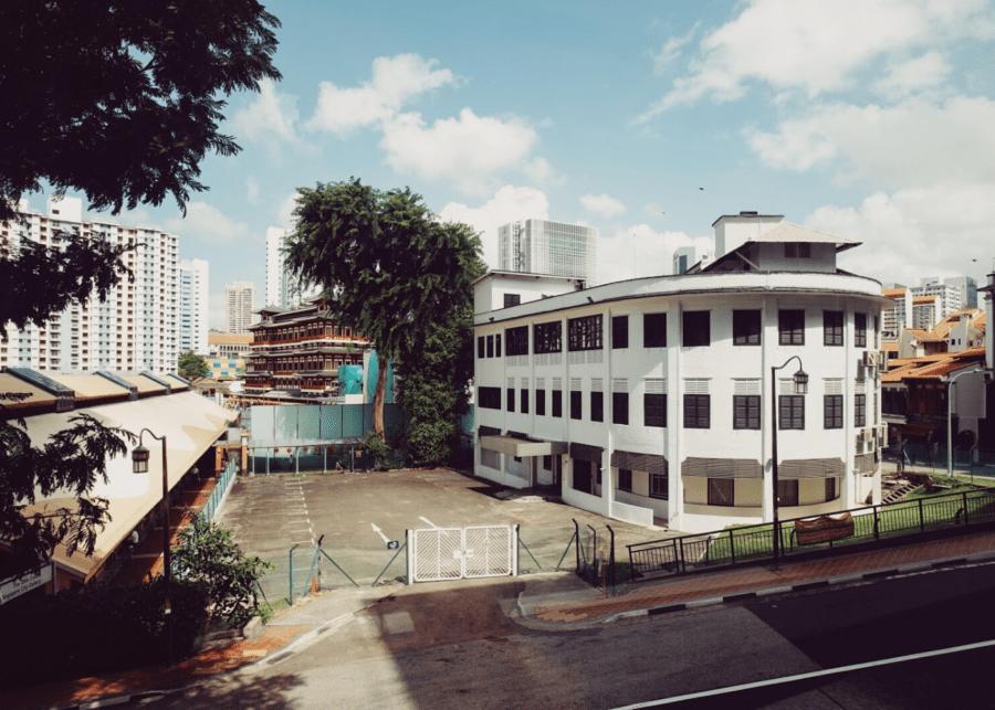 vintage photo of Singapore