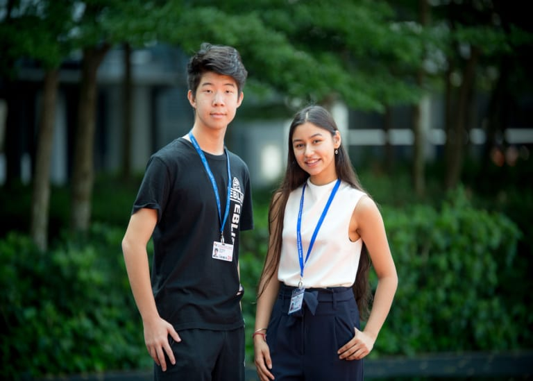 How to ace the IGCSE Exams: Two Top in the World awardees from Overseas Family School share their secrets
