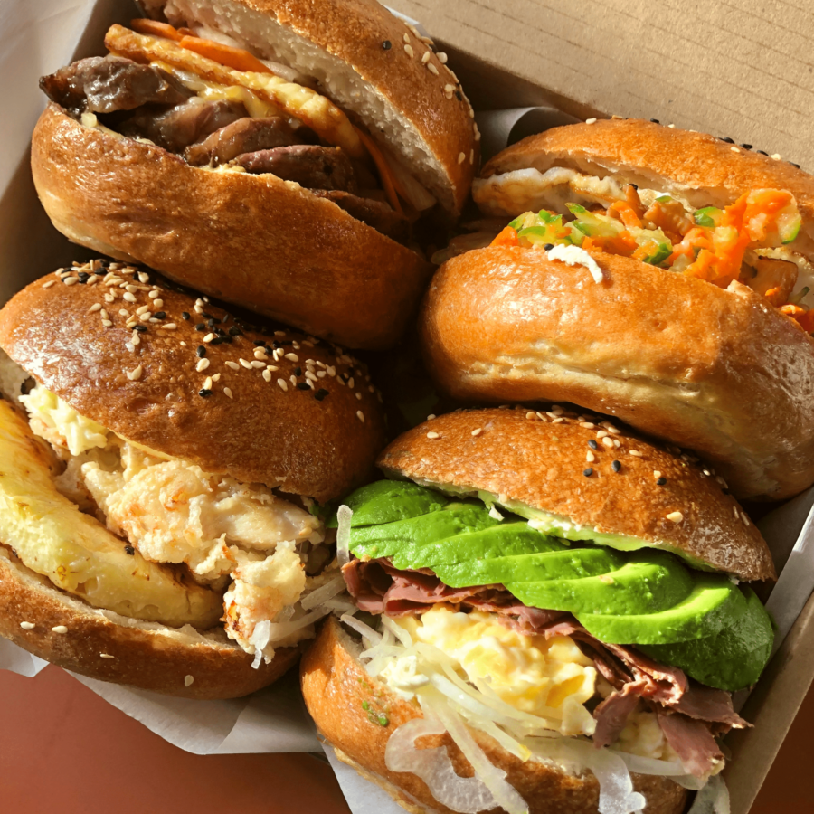Epic Breakfast Bagels For Dads, Have a Hearty Father's Day with SPRMRKT!
