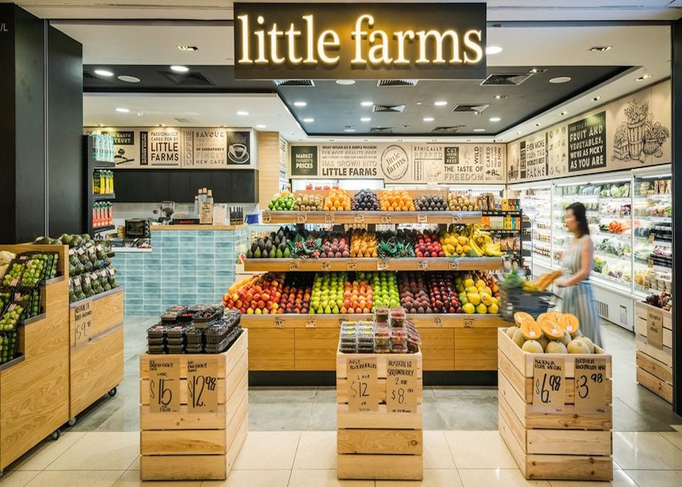 grocery shopping singapore little farms