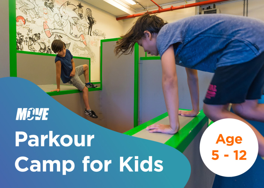 MOVE Kids Parkour Holiday Camp