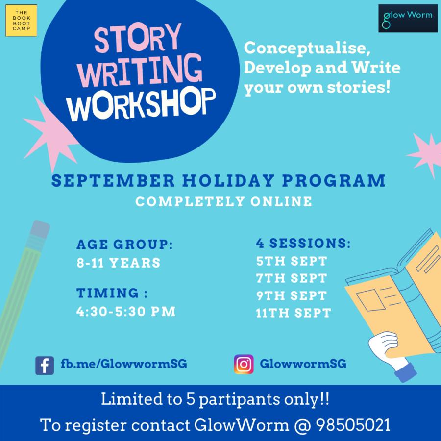 Story Writing Workshop with Glowworm SG