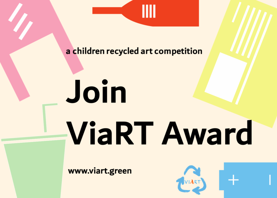 Competition alert! ViaRT Award: Children Recycled Art Competition and Sustainability Movement